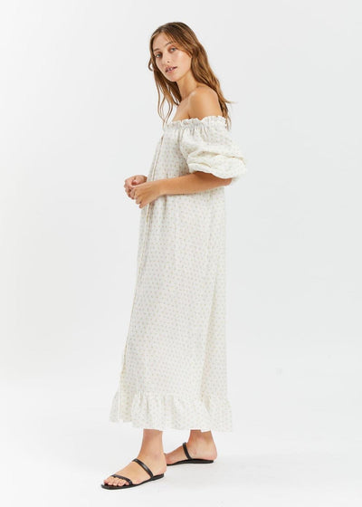 Loungewear Dress Garden Rose
