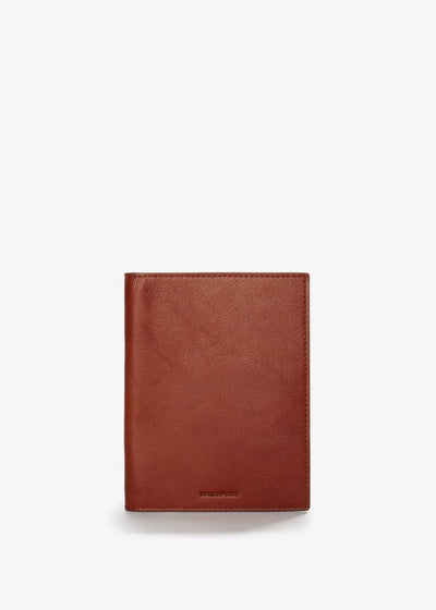 Alliance Passport Wallet Cognac