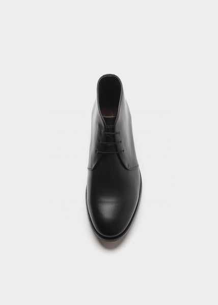 Cast Derby Midcut Classic Shoes Black