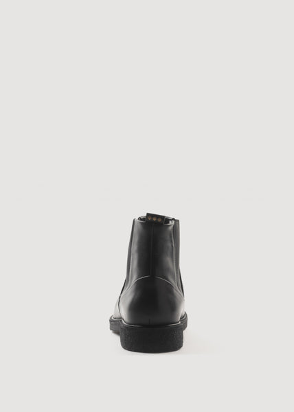 Border Creep Chelsea Boots Black