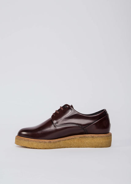 Border Creep Derby Shoe Bordeaux