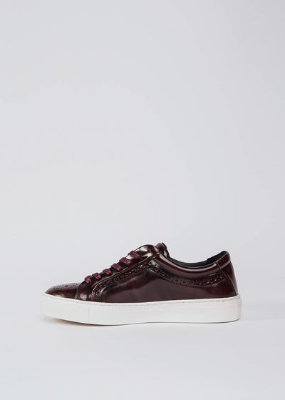 Elpique Brogue Shoe Bordeaux