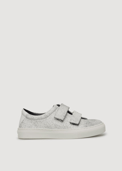 Elpique Strap Crack Shoe White