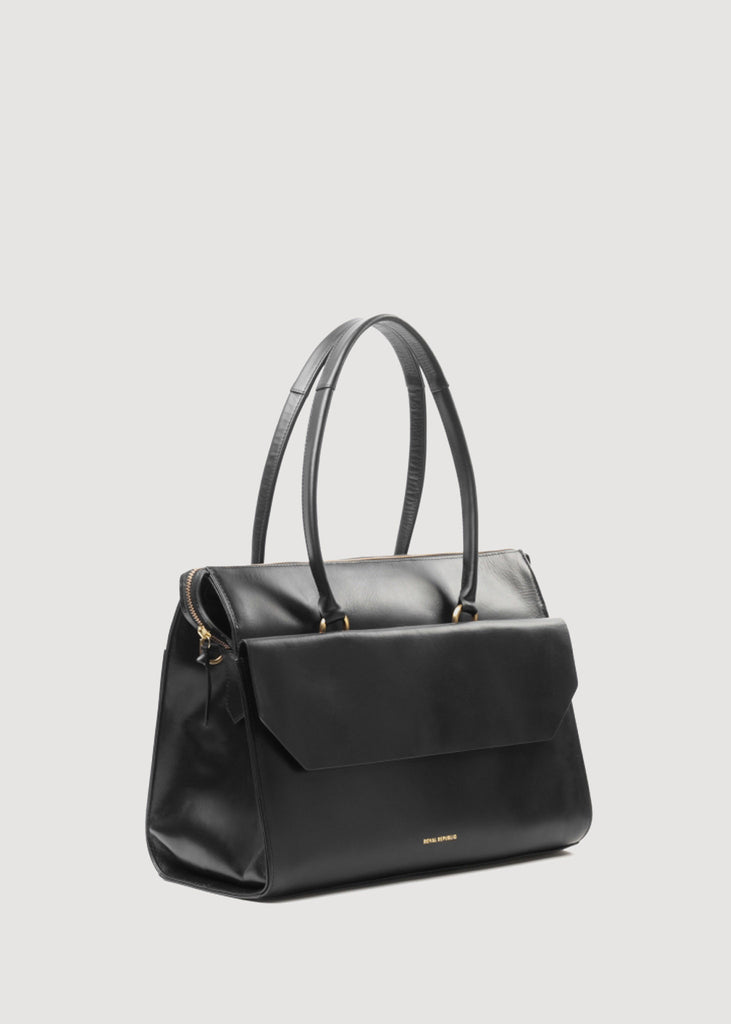 Empress Day Bag Black