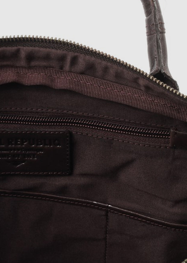 Explorer Laptop Bag Single Brown