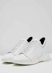 Force Hi Shoe White with White Outsole