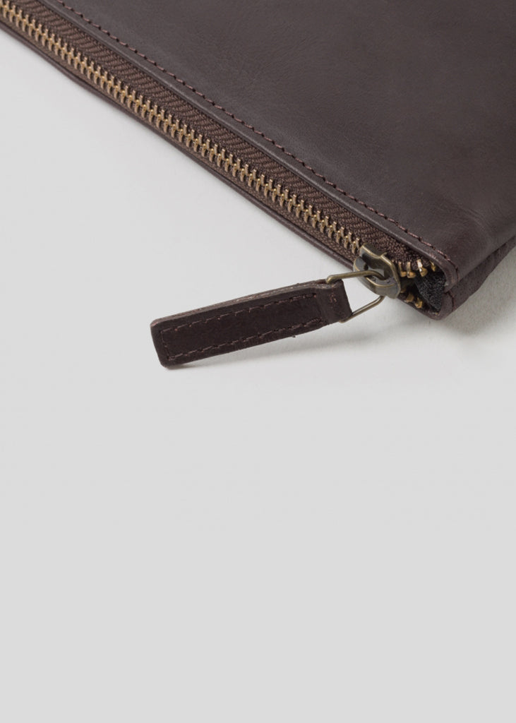 Laptop Sleeve with Zip Brown
