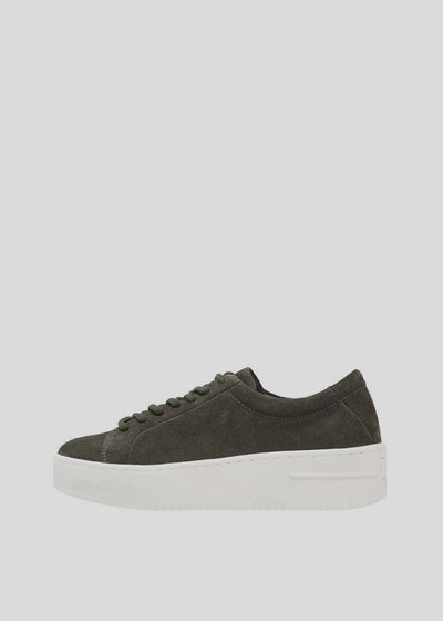 Seven20 Base Shoe Suede Olive Green