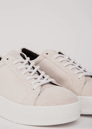 Seven20 Base Suede Shoe White
