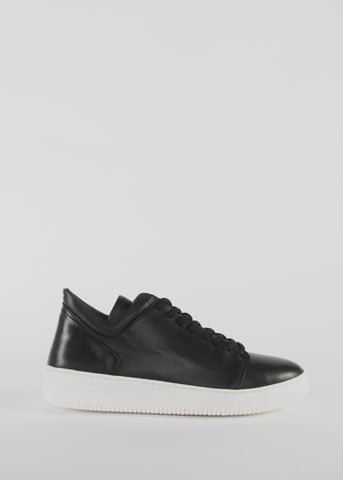 Seven20 Hi Shoe Black
