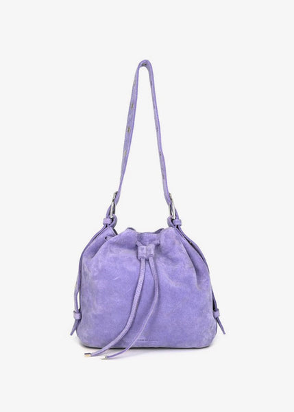 Warrior Bucket Evening Bag Lilac