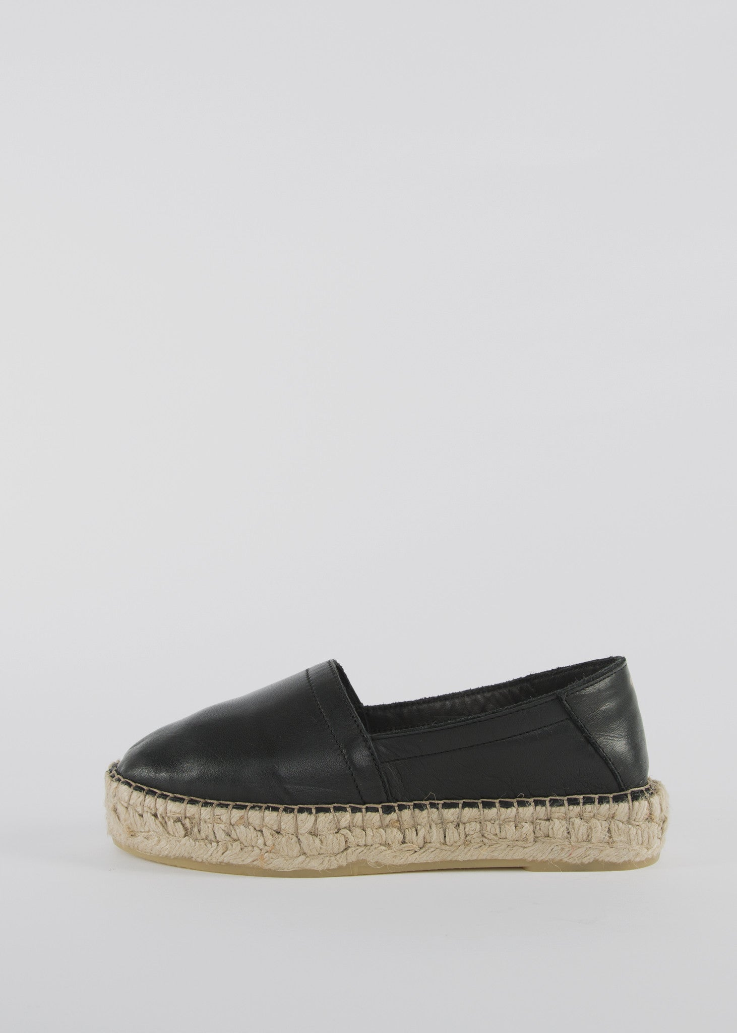 Wayfarer Espadril Shoes Black