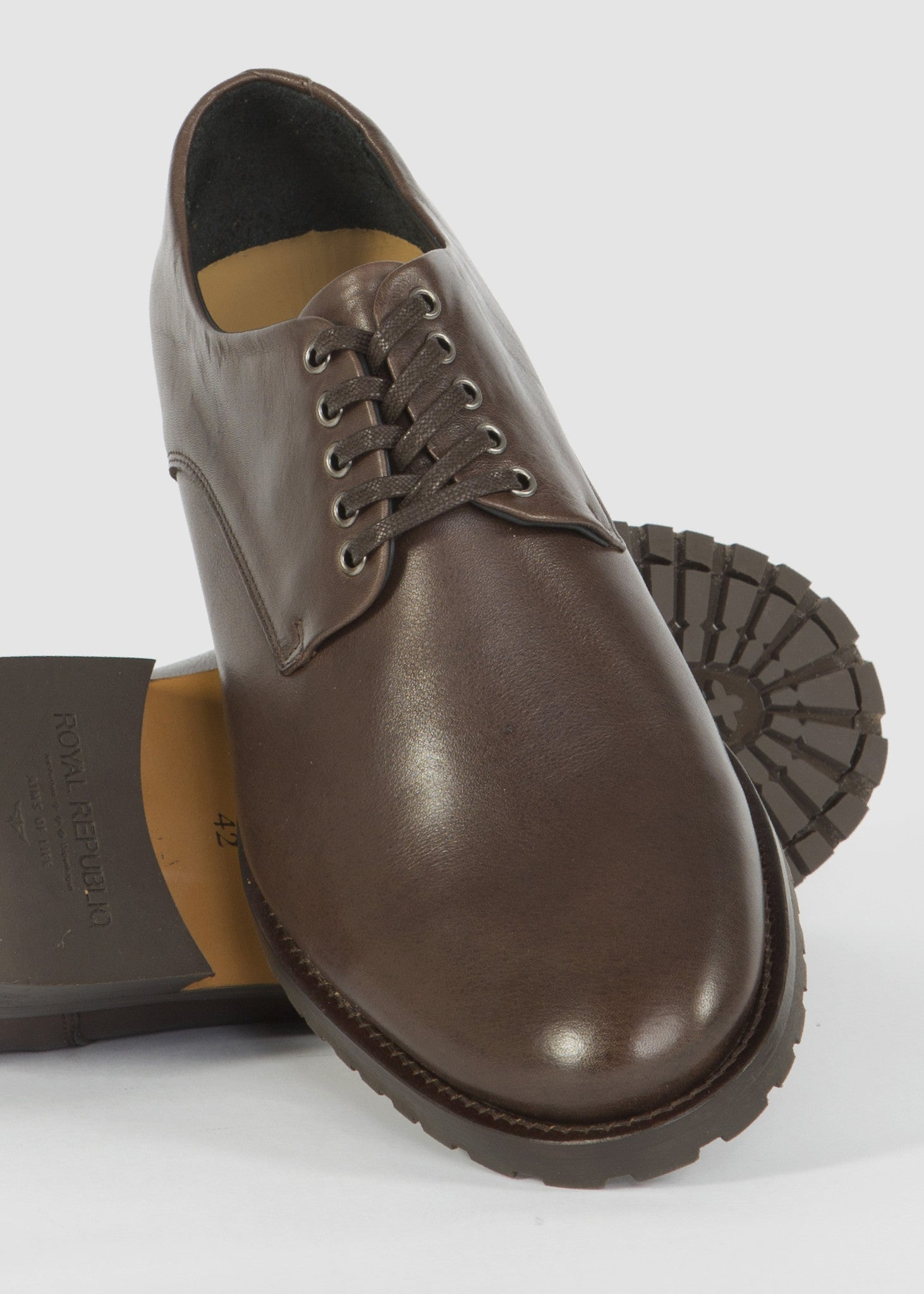 Nano Derby 3 Shoes Brown