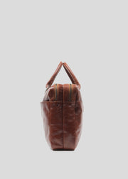 Explorer Laptop Bag Double Cognac