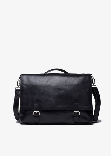Essential Messenger Bag Black