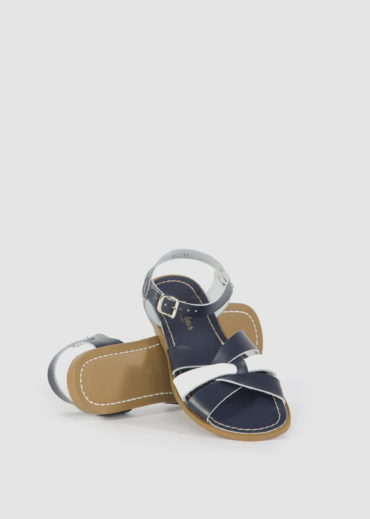 Sandal Navy/White Mix