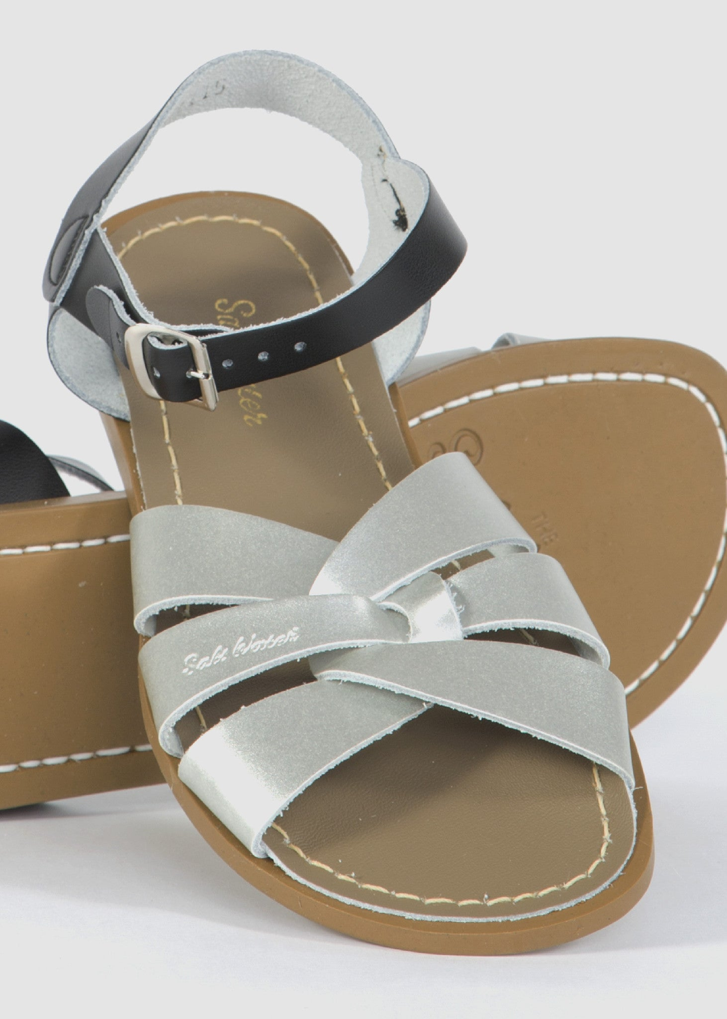 Sandal Silver/Black Mix