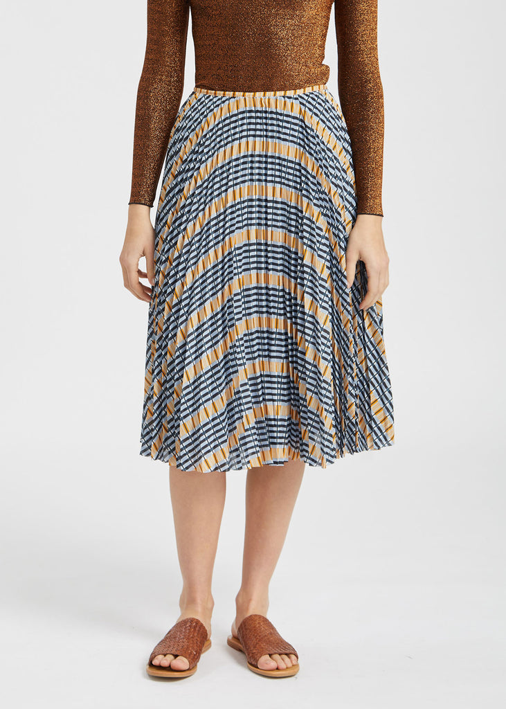 Juliette Skirt Inca Check
