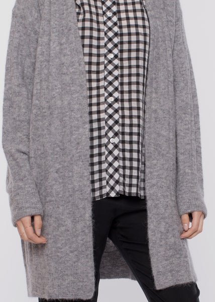 Nor Cardigan Grey Mel
