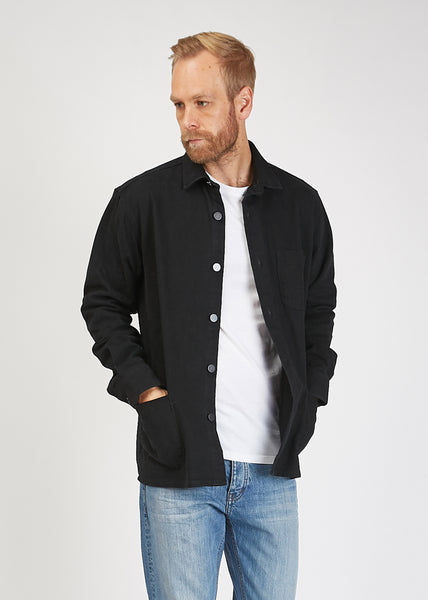 Overshirt Twill One Shirt Black
