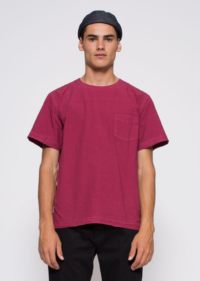 T-shirt Poplin One Beet Red