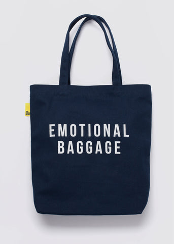 Emotional Baggage Tote Navy