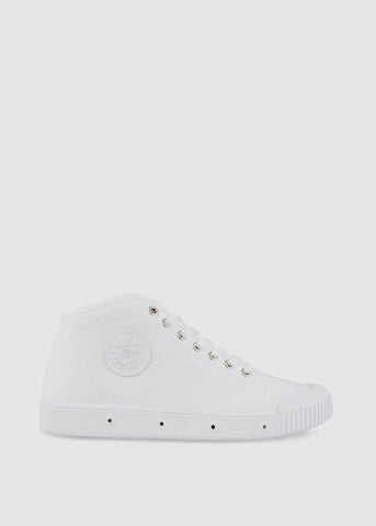 B2 Slim Canvas Sneakers White
