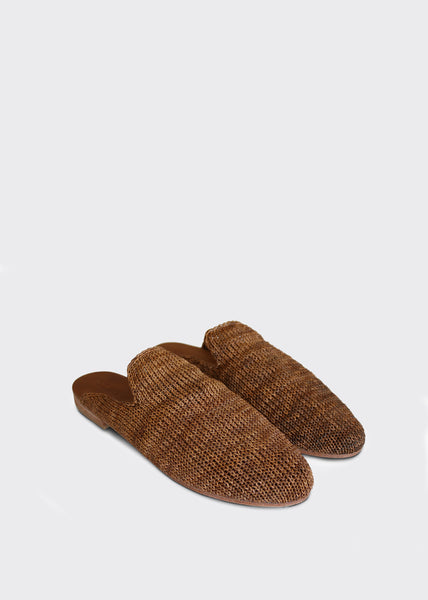 Desi Knit Loafers Tan