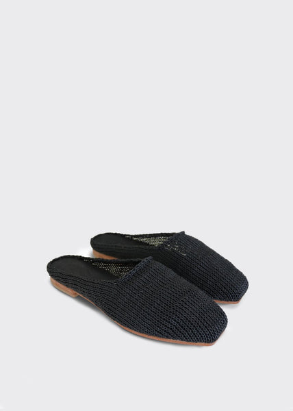 Mae Knit Loafers Black