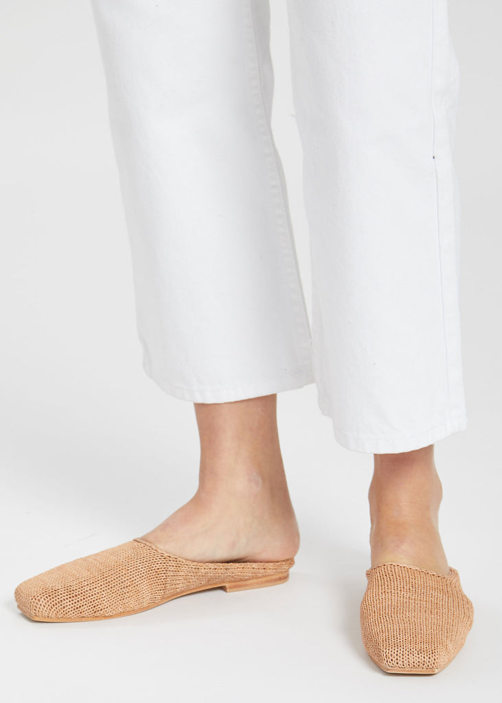 Mae Knit Loafers Tan