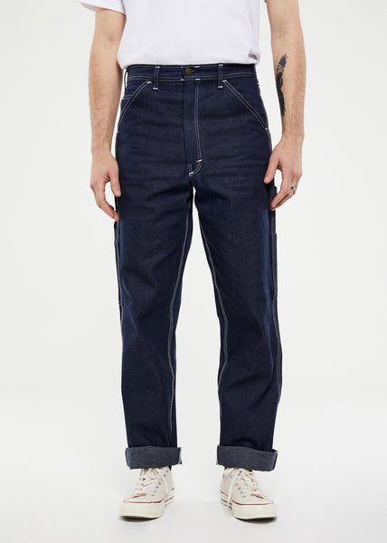 Single Knee Painter Pants Indigo