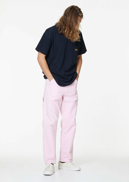 Single Knee Painter Pants Pink