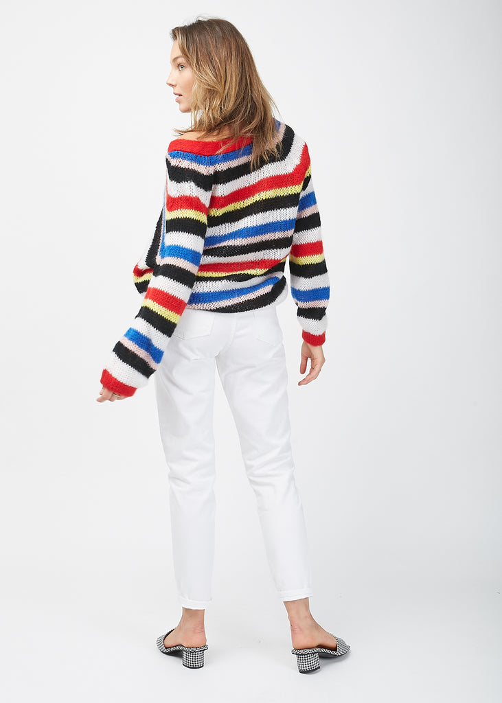 Salma Cardigan Stripes