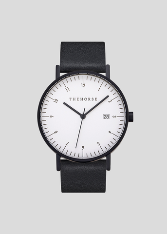 D-Series Watch Black/White/Black