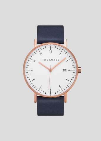 D-Series Watch Gold/White/Navy