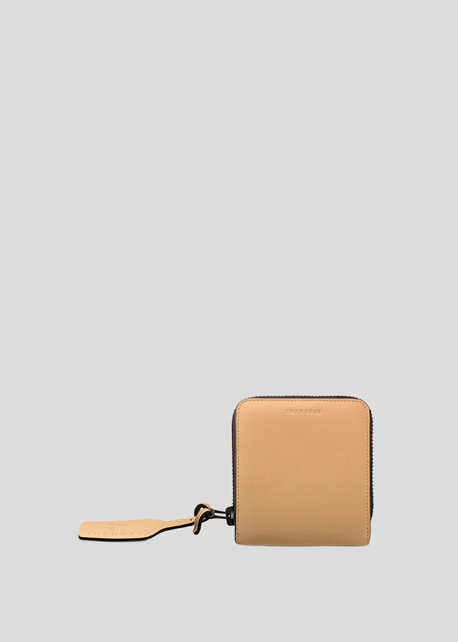 Small Block Wallet Vegetable Tan