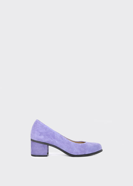 Town Pump Suede Shoes Lilac