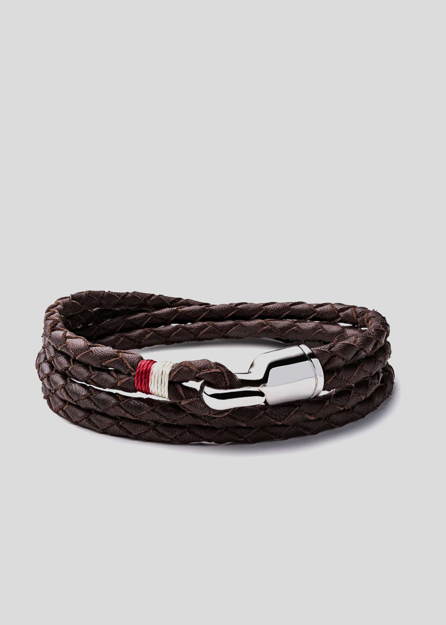 Trice Bracelet Brown/White/Red