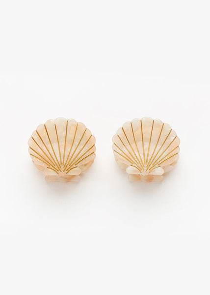 Ursula Shell Clip Pink