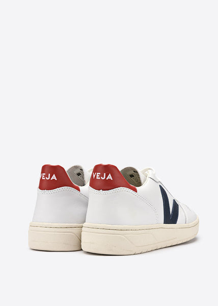 V10 Shoes Extra White Nautico Pekin