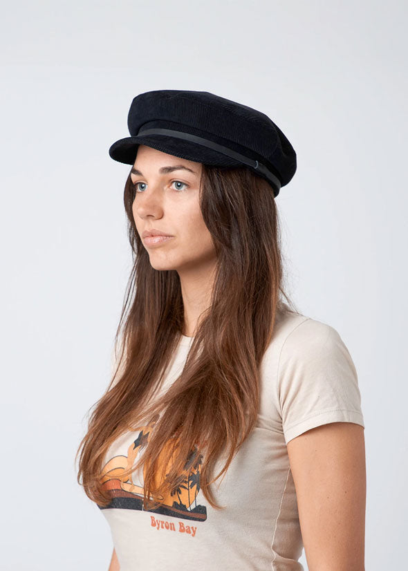 Baker Hat Black