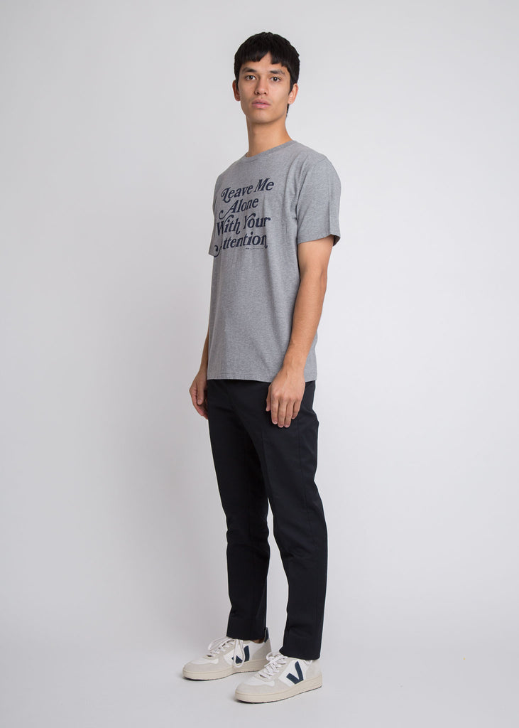 Alone T-Shirt Grey Melange