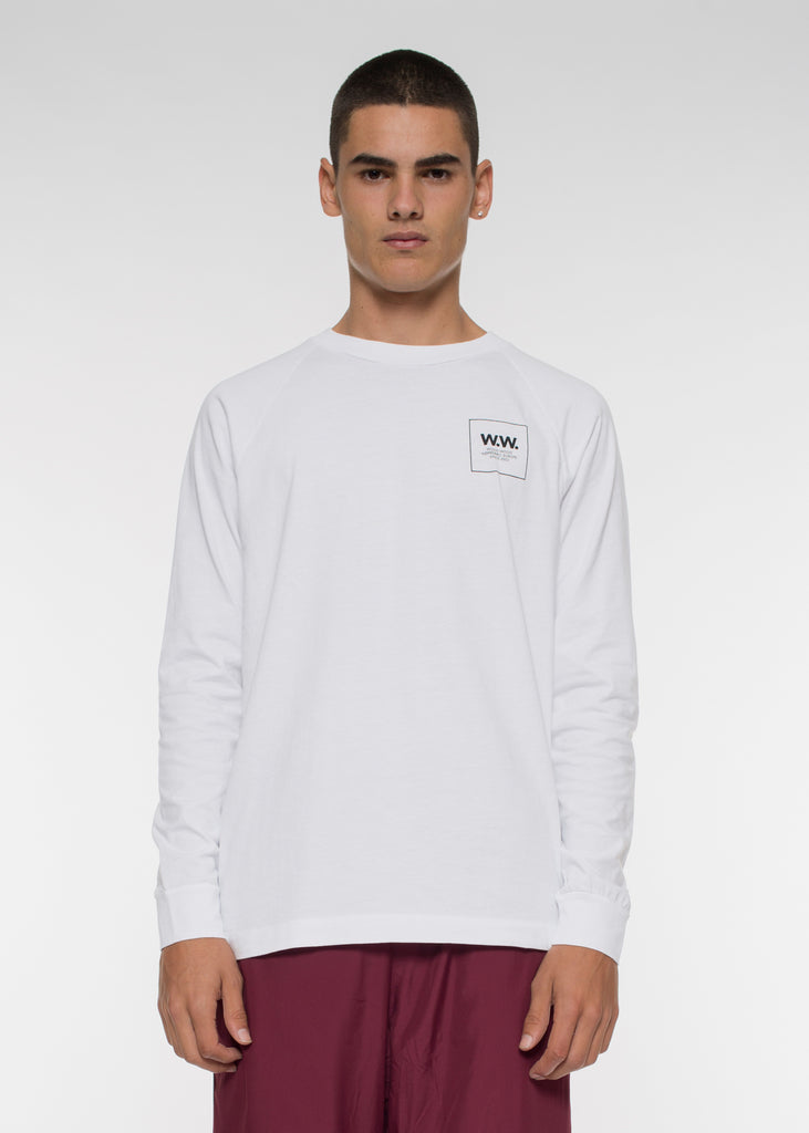 Han Long Sleeve Tee Bright White