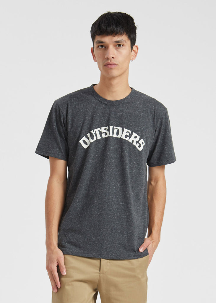 Humphrey T-Shirt Dark Grey Melange