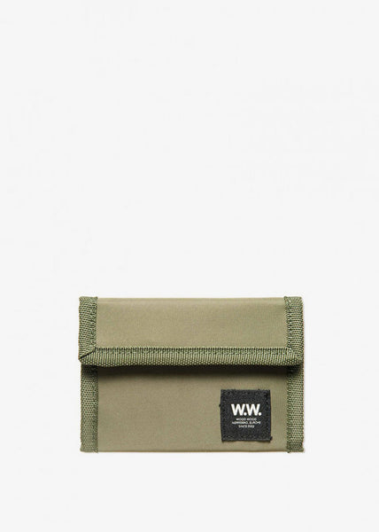 Marley Velcro Wallet Dark Green