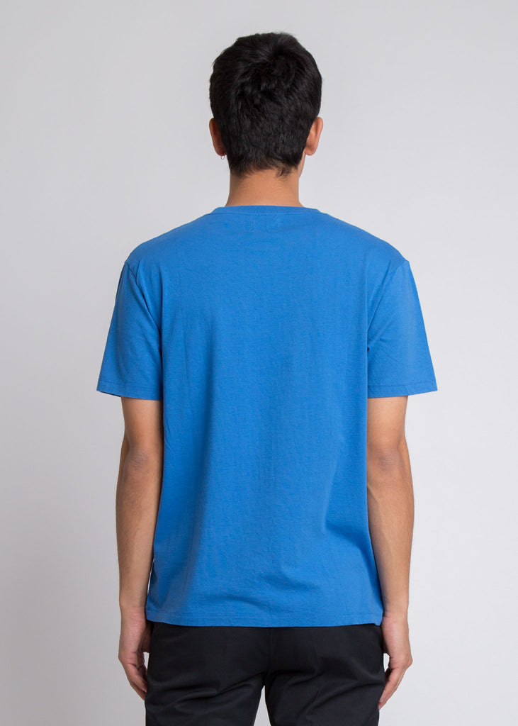 WW Box T-Shirt Bright Blue