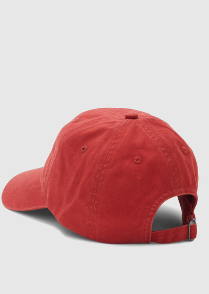 Low Profile Cap Burnt Red