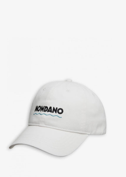 Low Profile Mondano Cap White