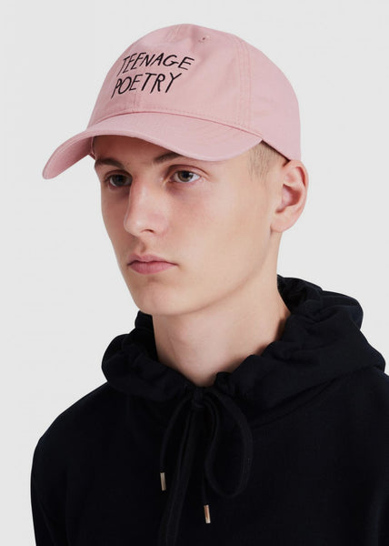 Low Profile Cap Peach Beige Teenage Poetry