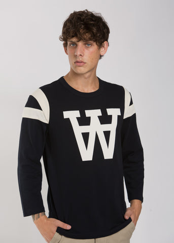 William Longsleeve Tee Navy